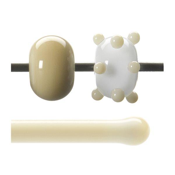 Bullseye Stange - Nougat - 4-6mm - Opaleszent