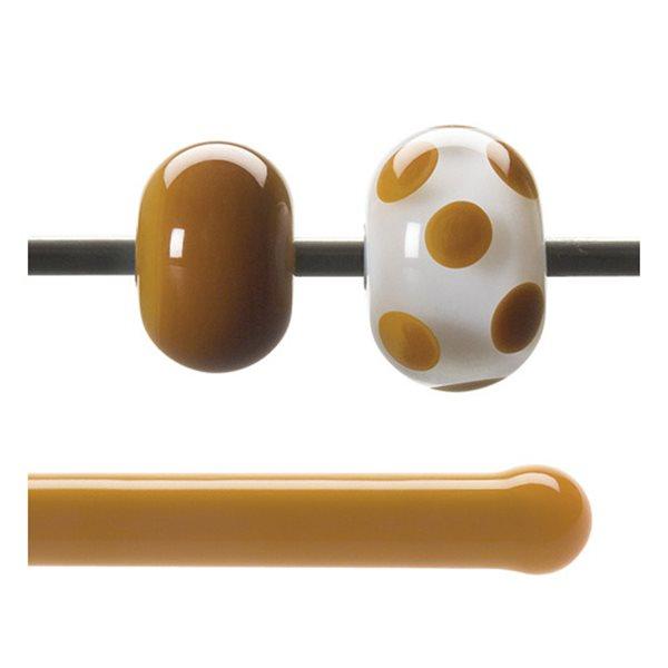 Bullseye Stange - Butterscotch - 4-6mm - Opaleszent