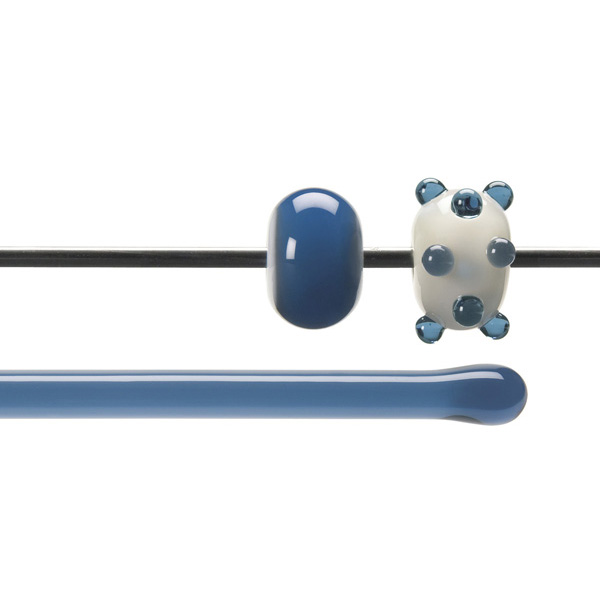 Bullseye Stange - Steel Blue - 4-6mm - Transparent