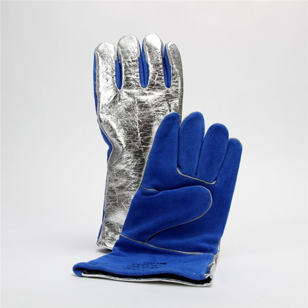 Hi-Temp Glove - Sebatan-Leather/Aluminium