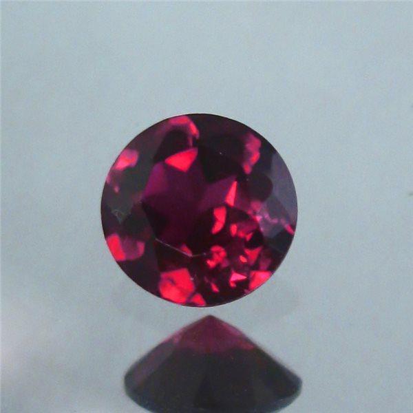 Cubic Zirconia - Garnet - Round - 2.5mm - 10pcs
