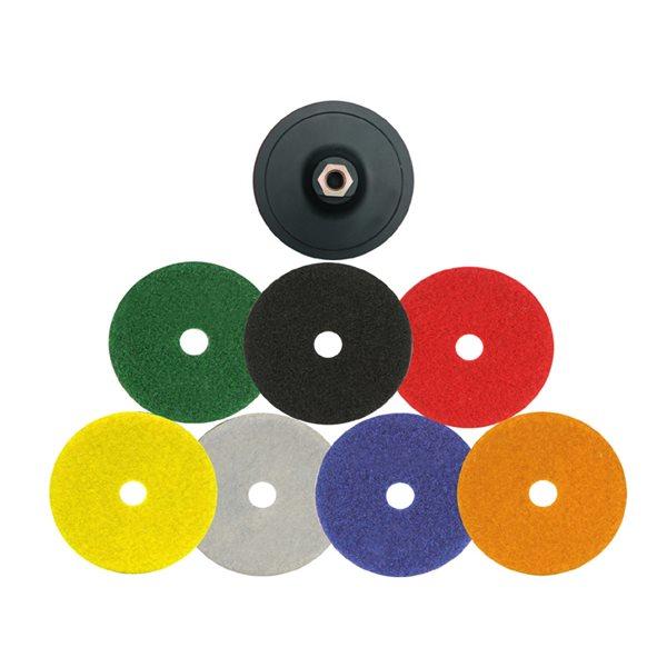 Polierset für Pneumatischen Winkelschleifer - Suhner LXB10 - 50mm