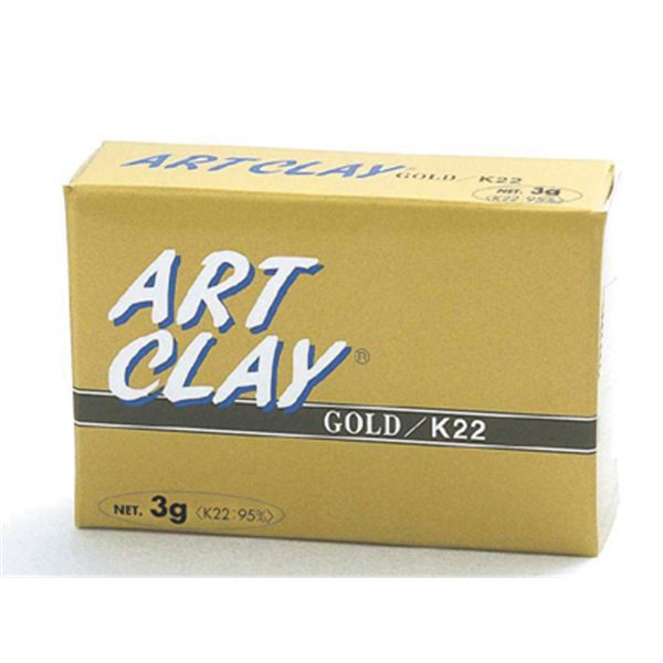 Art Clay Gold- Modelliermasse K22 - 3g