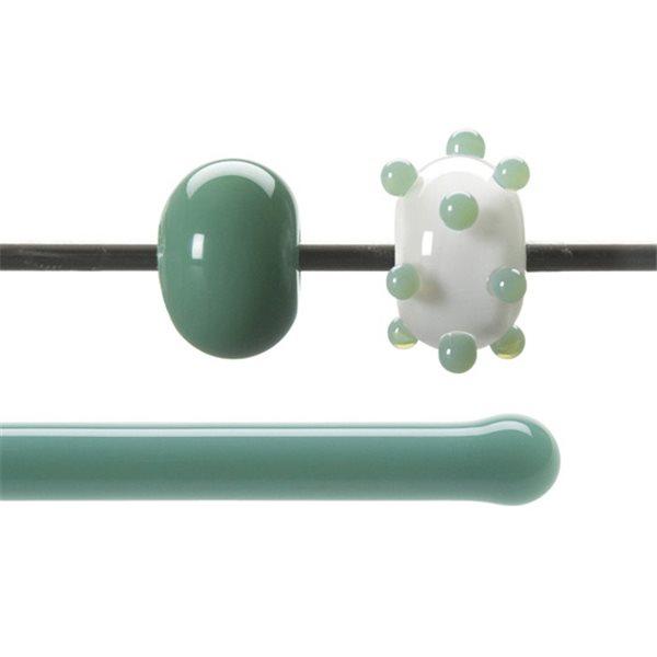 Bullseye Stange - Mineral Green - 4-6mm - Opaleszent