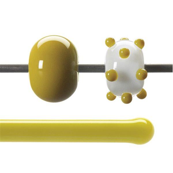 Bullseye Stange - Golden Green - 4-6mm - Opaleszent