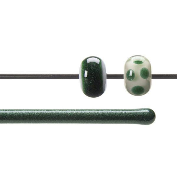 Bullseye Stange - Aventurine Green - 4-6mm - Transparent
