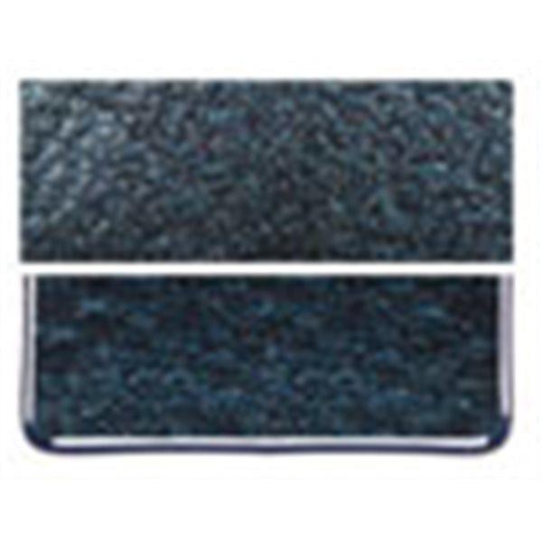 Bullseye Aventurine Blue - Transparent - 3mm - Fusing Glas Tafeln