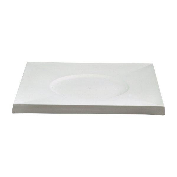 Casablanca - Plate Charger - 36.5x36.5x2.5cm - Basis: 21x0.5cm - Fusing Form