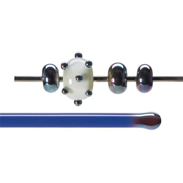 Bullseye Stange - Blue Lustre - 4-6mm - Transparent