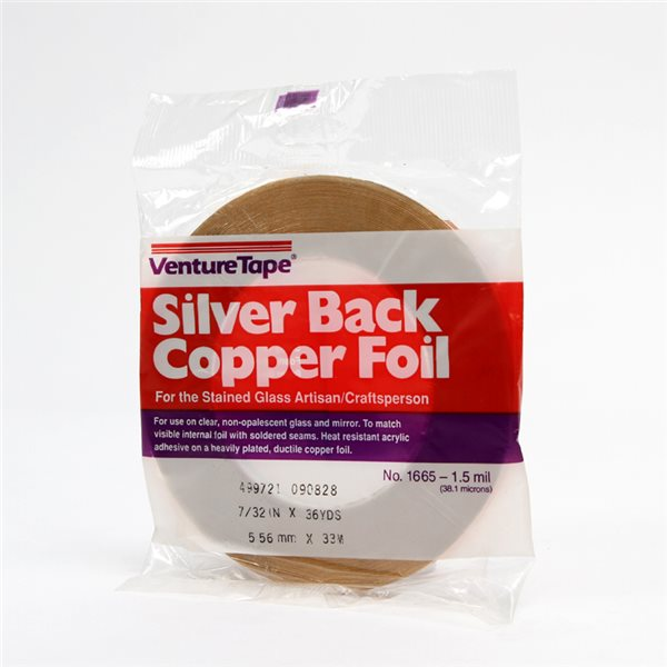 Venture - Silver Back Foil - 7/32 Zoll