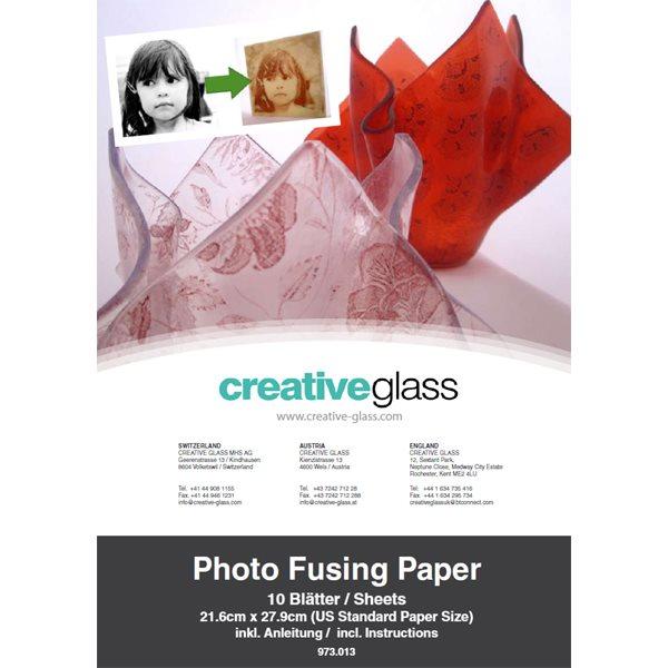 Photo Fusing Decal Paper - 20x30cm - 10pcs