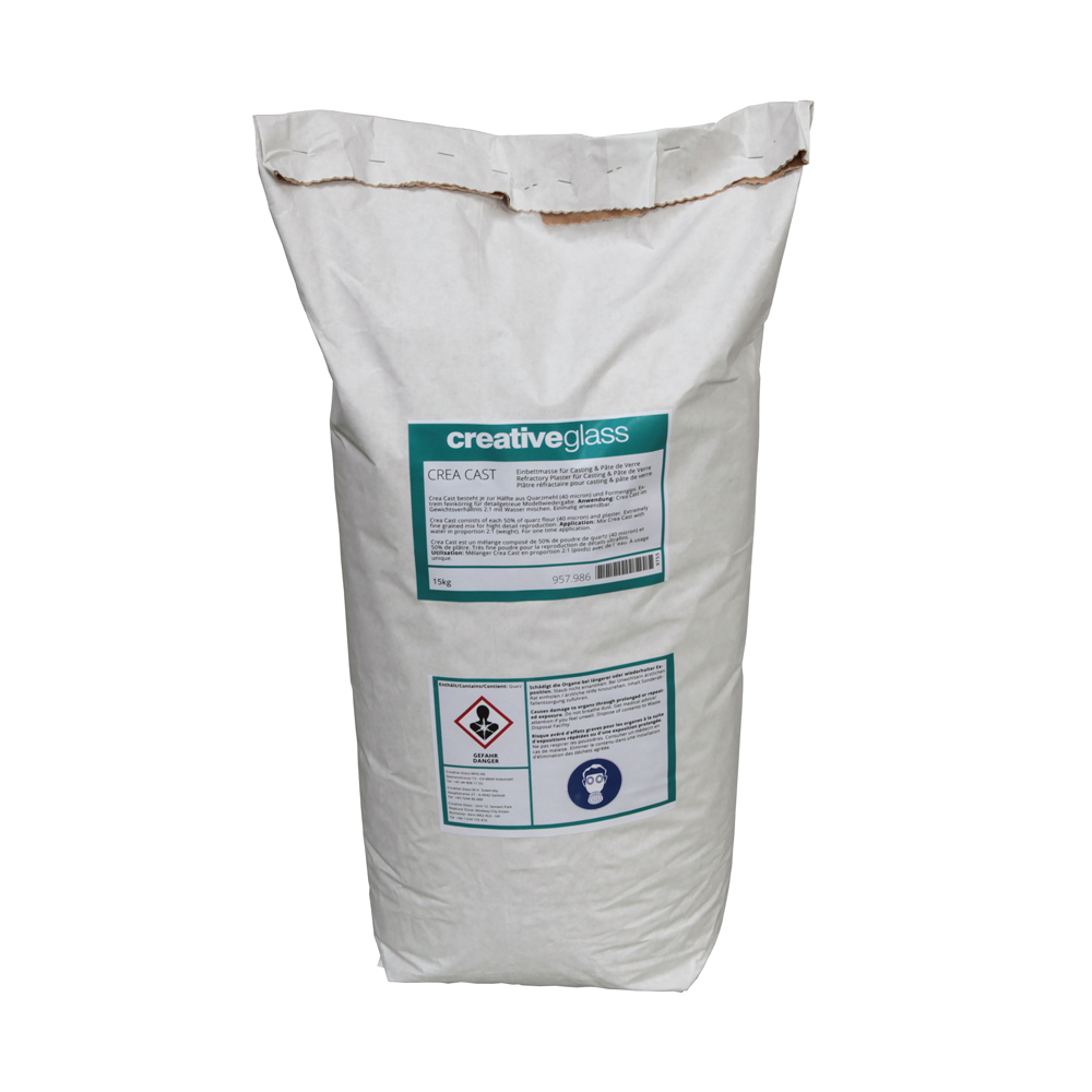 Crea Cast Refractory Plaster Mix - 25kg