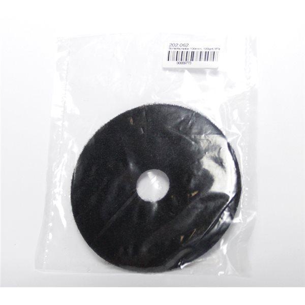 Diamond Pad - 100mm - 120 grit - Black