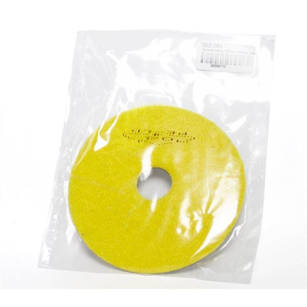Diamond Pad - 100mm - 400 grit - Yellow