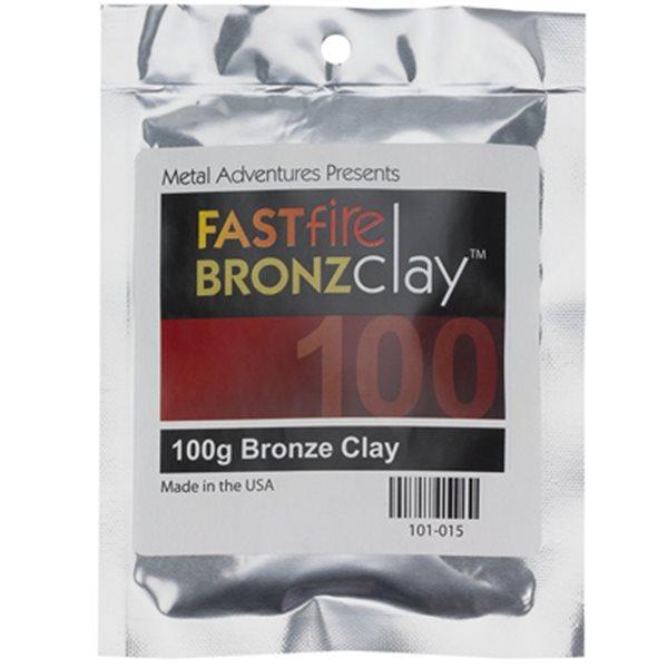BRONZClay - FastFire Modelliermasse - 100g