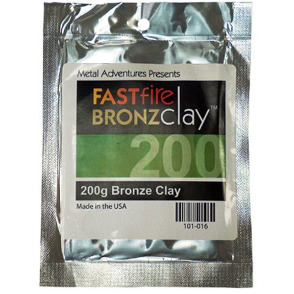 BRONZClay - FastFire Modelliermasse - 200g
