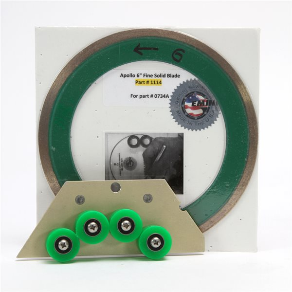Module Apollo - Diamond Saw Blade - Slicer for Glass - 150mm