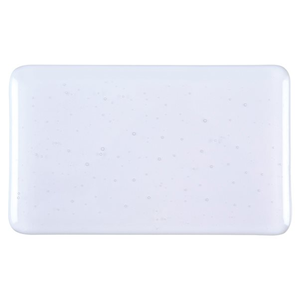 Bullseye Lavender Gray - Tint - Transparent - 3mm - Fusible Glass Sheets