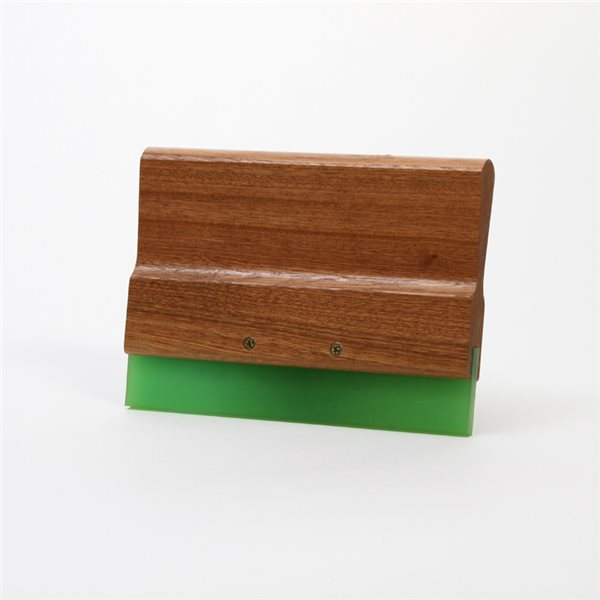 Wood Squeegee Handle & Blade - 20cm