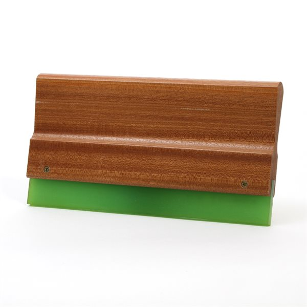 Wood Squeegee Handle & Blade - 28cm