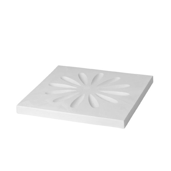 Texture - Floral - 31x31x2.6cm - Fusing Mould