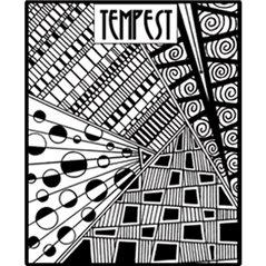 Rubber Stamp Mat - Tempest - 10x12.5cm