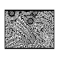 Rubber Stamp Mat - Indian Summer - 10x12.5cm