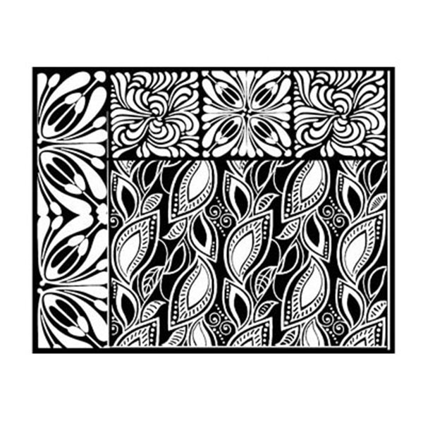 Rubber Stamp Mat - Frenzy - 10x12.5cm