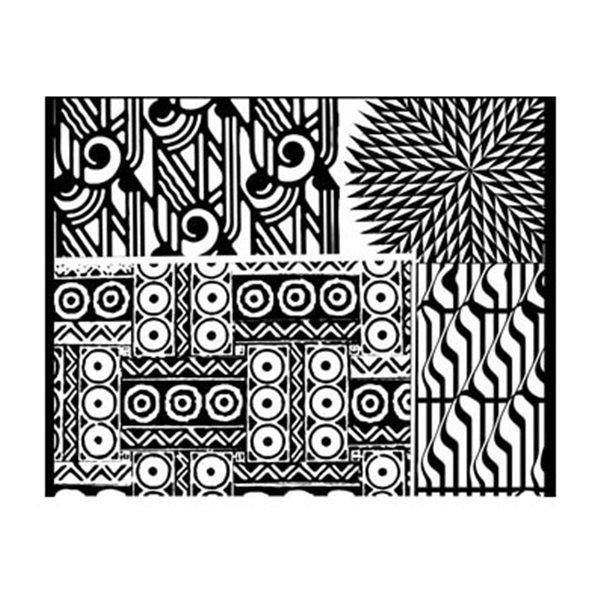 Rubber Stamp Mat - Four Play - 10x12.5cm