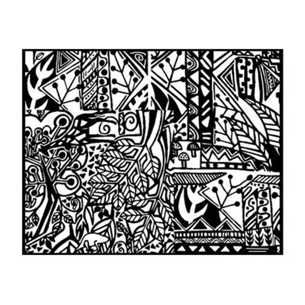 Rubber Stamp Mat - Magic Mushroom - 10x12.5cm