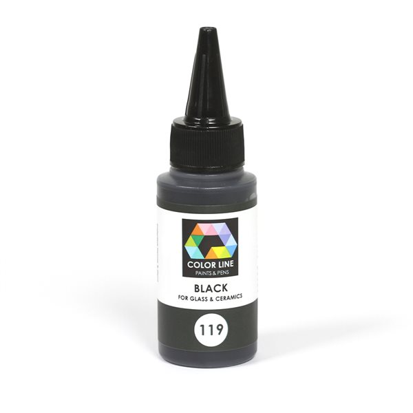 Color Line Pen - Black - 62g / 2.2oz
