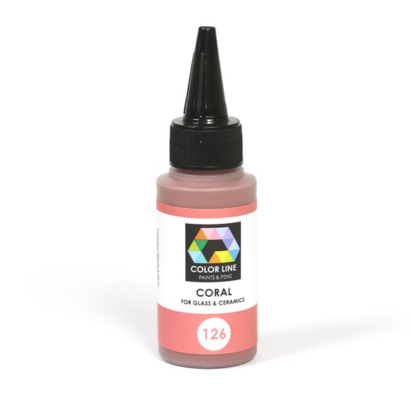 Color Line Pen - Coral - 62g / 2.2oz