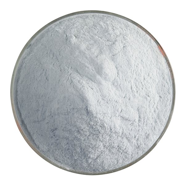 Bullseye Frit - Sea Blue - Powder - 450g - Transparent