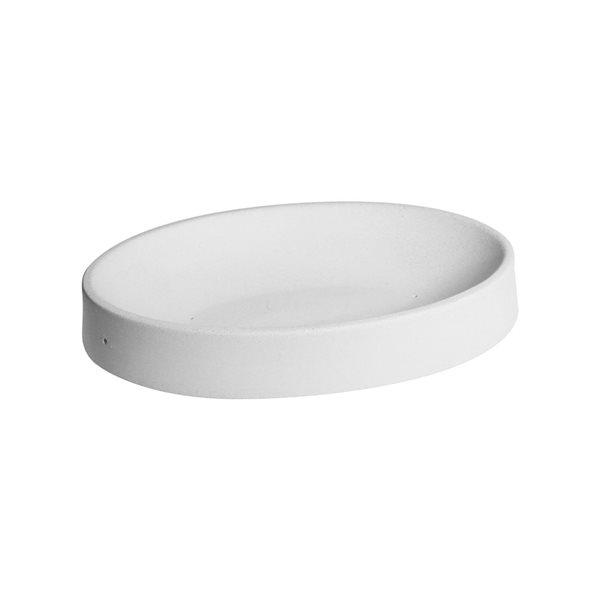 Oval - 20.6x13.3x3.2cm - Base: 10.8x4cm - Fusing Mould