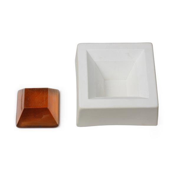 Pyramid Cut - 14.5x14.5x6cm - Casting Mould