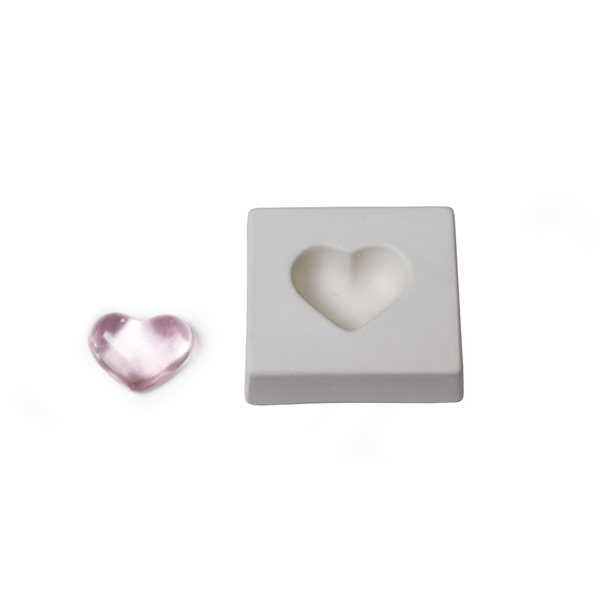 Heart - 7.6x8.2x2.3cm - Casting Mould