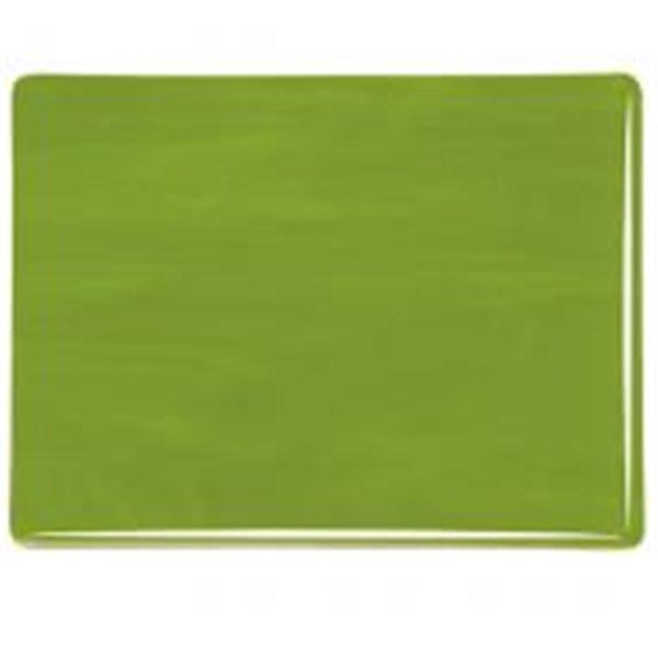 Bullseye Avocado Green - Opalescent - 3mm - Fusible Glass Sheets