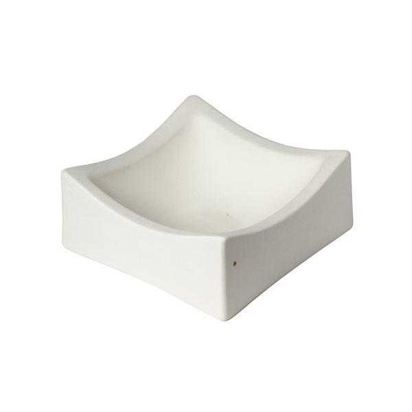 Deep Square Slumper - 24.5x24.5x9.8cm - Fusing Mould