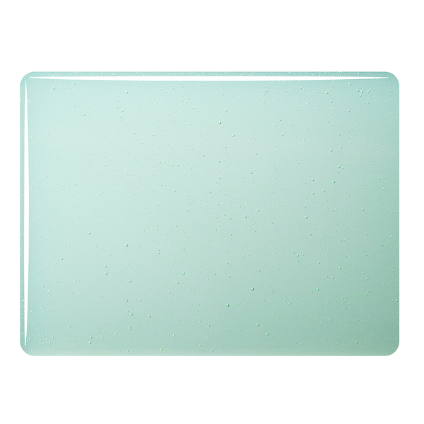 Bullseye Ming Green Tint - Transparent - 3mm - Fusible Glass Sheets