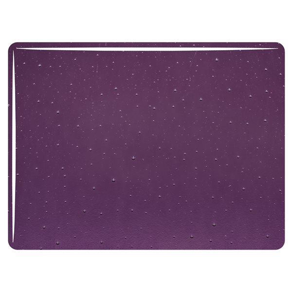 Bullseye Amethyst - Transparent - 3mm - Fusible Glass Sheets