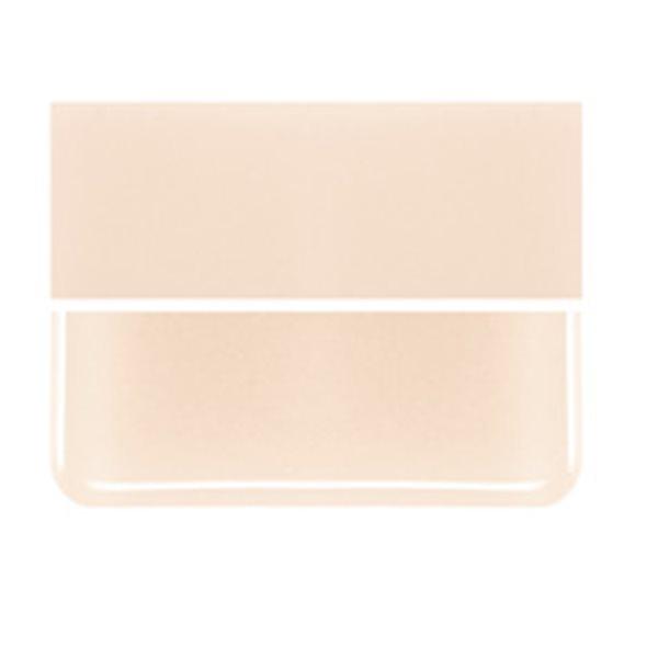 Bullseye Light Peach Cream - Opaleszent - 3mm - Fusing Glas Tafeln