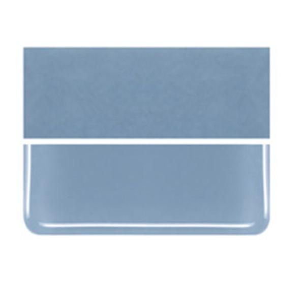 Bullseye Powder Blue - Opaleszent - 3mm - Fusing Glas Tafeln