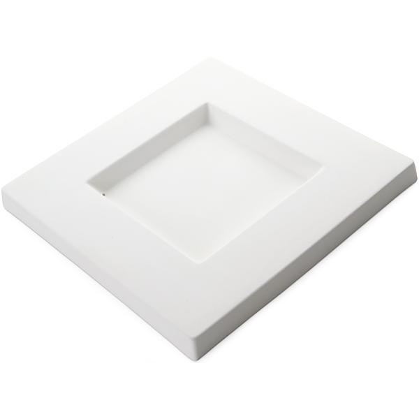 Square Platter - 24.5x24.5x2cm - Basis: 12x12cm - Fusing Form