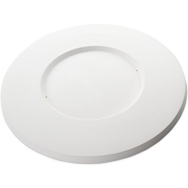 Round Platter - 37.7x1.8cm - Basis: 20.8x1.1cm - Fusing Form