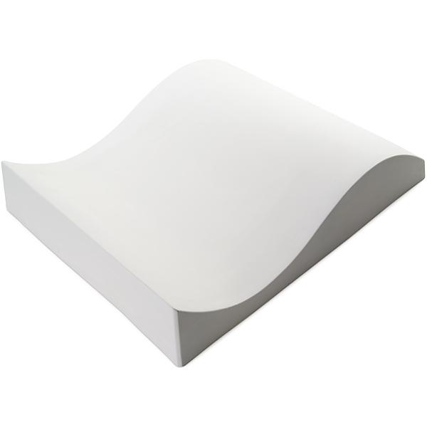 Double Curve - 40.4x34.6x7.4cm - Fusing Form
