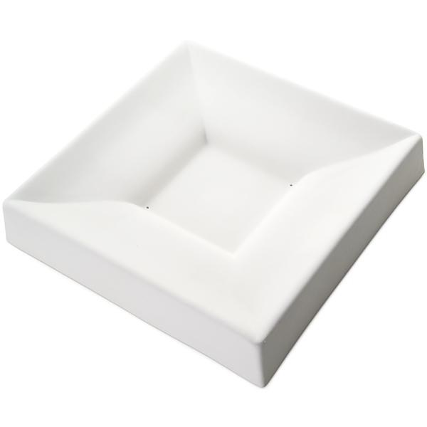 Square Bowl Double Curve - 30.1x30.1x5.4cm - Basis: 10.8cm - Fusing Form