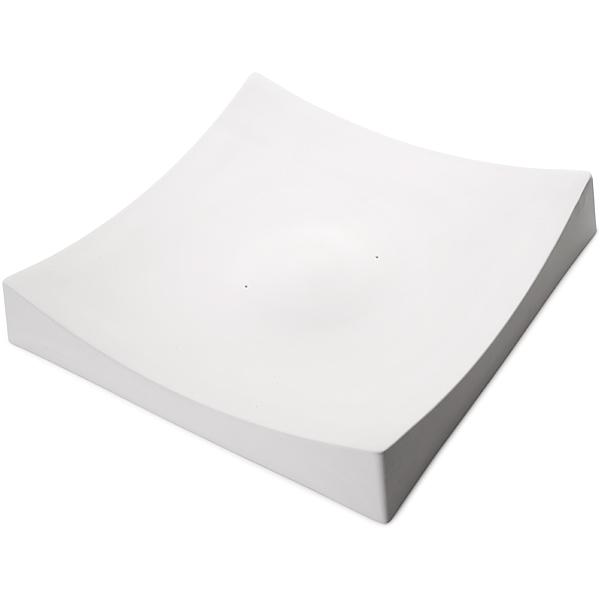 Square Slumper A - 40.8x40.4x7.1cm - Basis: 5.1cm - Fusing Form