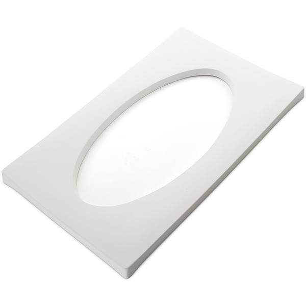 Drop Out Elipse - 26.8x44x2cm - Ouverture: 34.2x17.2cm - Moule pour Fusing