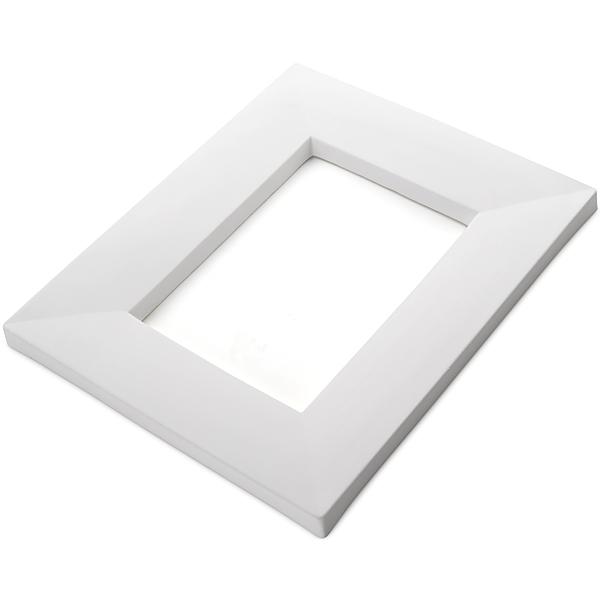 Drop Out Rectangular - 30.7x25.5x1.9cm - Ouverture: 19.7x14cm - Moule pour Fusing
