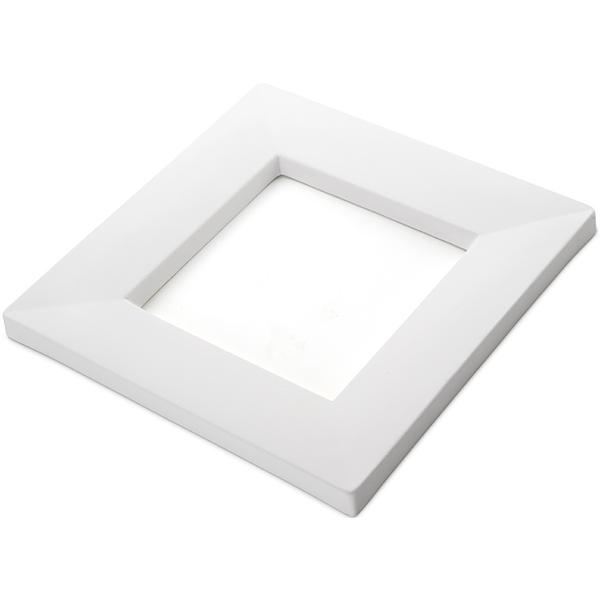Drop Out Square - 24.2x24.2x1.7cm - Ouverture: 14.5x14.5x1.4cm - Moule pour Fusing